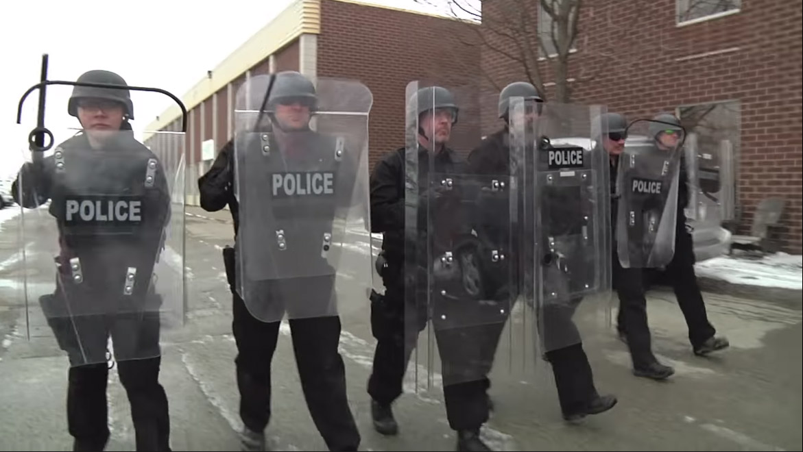 Lamperd Interlocking Police Riot Shields -