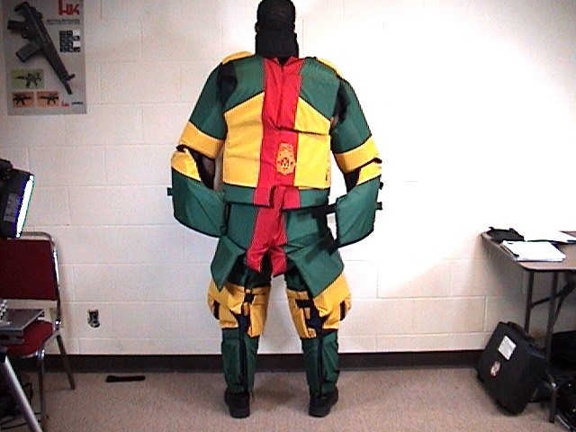 Lamperd Training Suit Rear