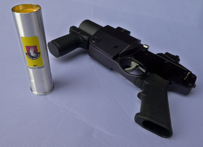 Our new advanced OC supreme formula muzzle blast for 37mm _launch systems 1200